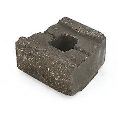 Garden Accent Wall Block Standard Charcoal