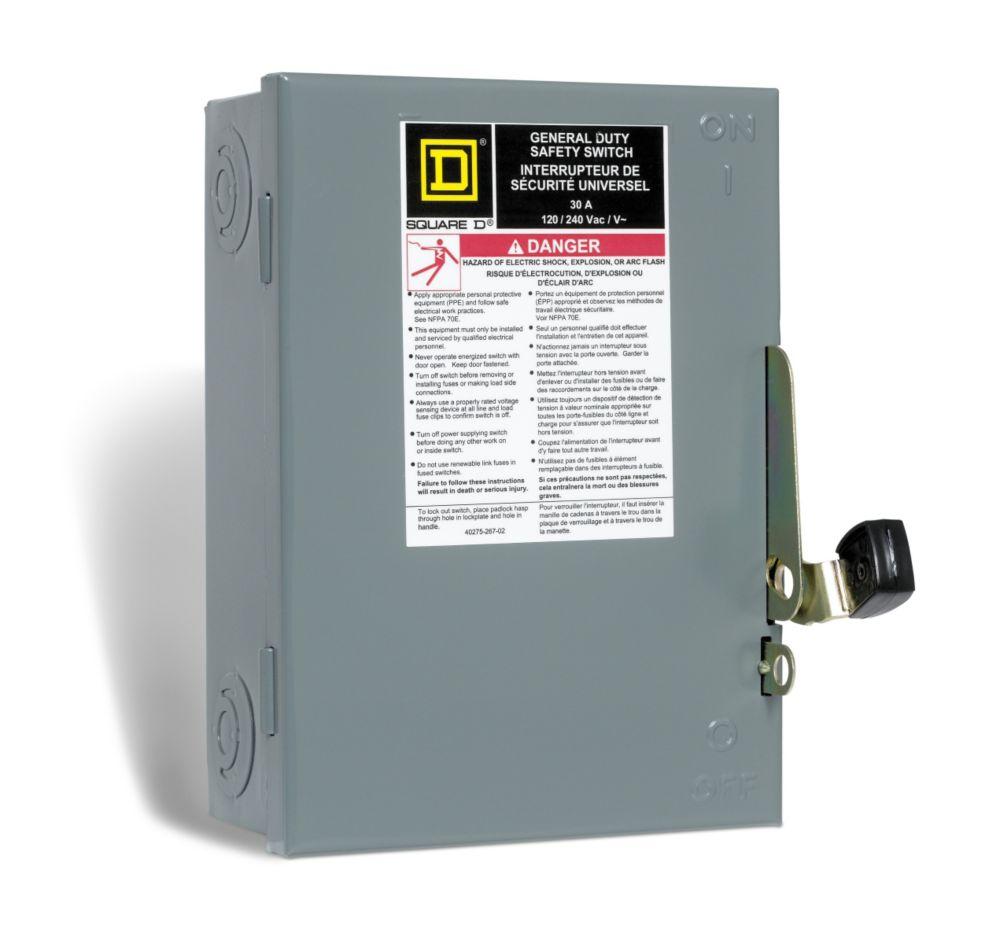 Square D Fuse Box - Wiring Diagram