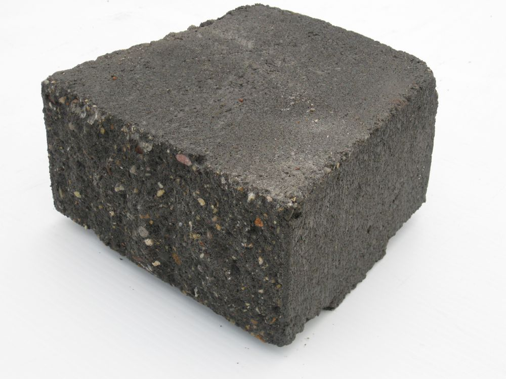 Allan Block (Ab) Garden Accent Wall Cap Charcoal
