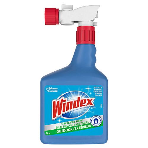Nettoyant extérieur à vaporiser pour fenêtres et surfaces, 950 mL