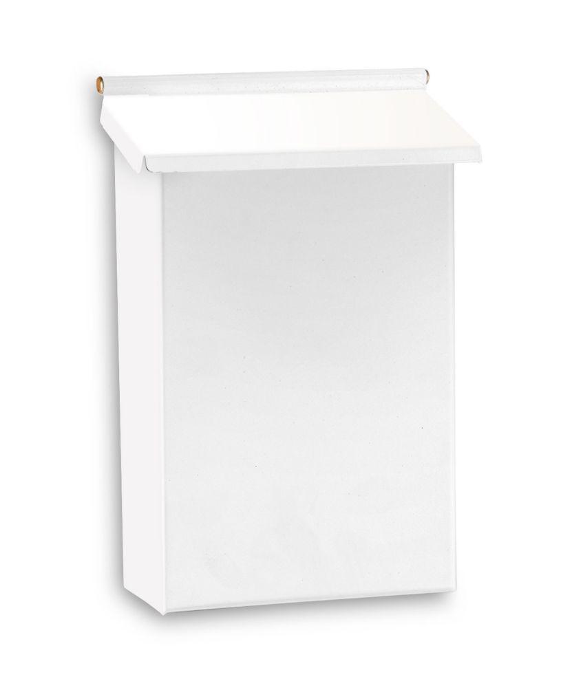 White Pouch Mailbox