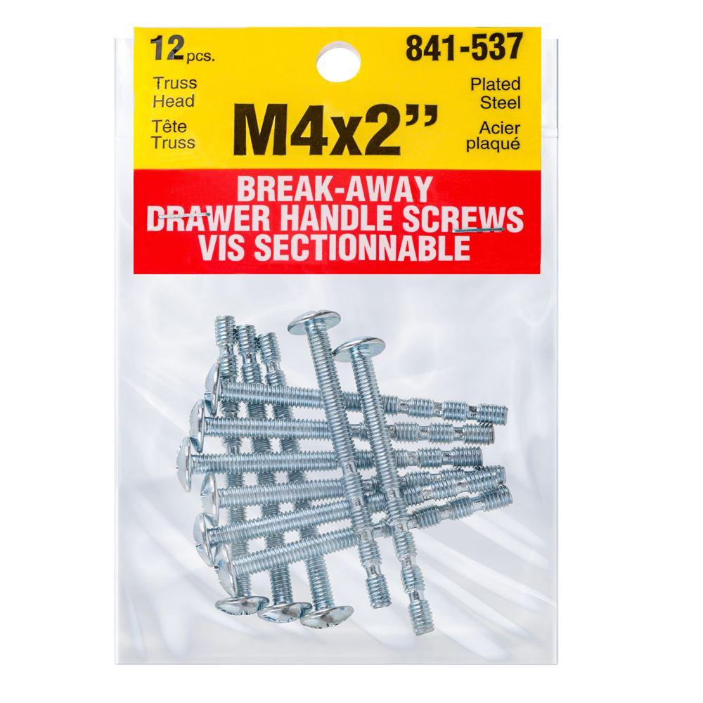 "Papco M4-2"" Drawer Handle Brkway Sc."