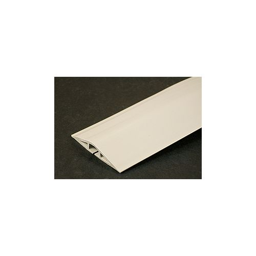 Legrand Wiremold Corduct 5 ft. Floor Cable Conduit in Ivory