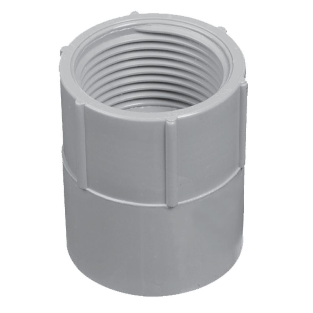 Schedule 40 PVC Female Adapter � 1-1/2 Inches