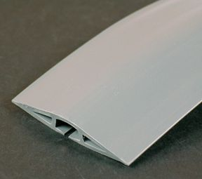 Legrand Wiremold Corduct 5 ft. Floor Cable Conduit in Grey