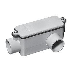Carlon Raccord De Dérivation En PVC Schedule 40 De Type LL – 1/2 Pouce