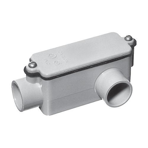 Raccord De Dérivation En PVC Schedule 40 De Type LL – 1/2 Pouce