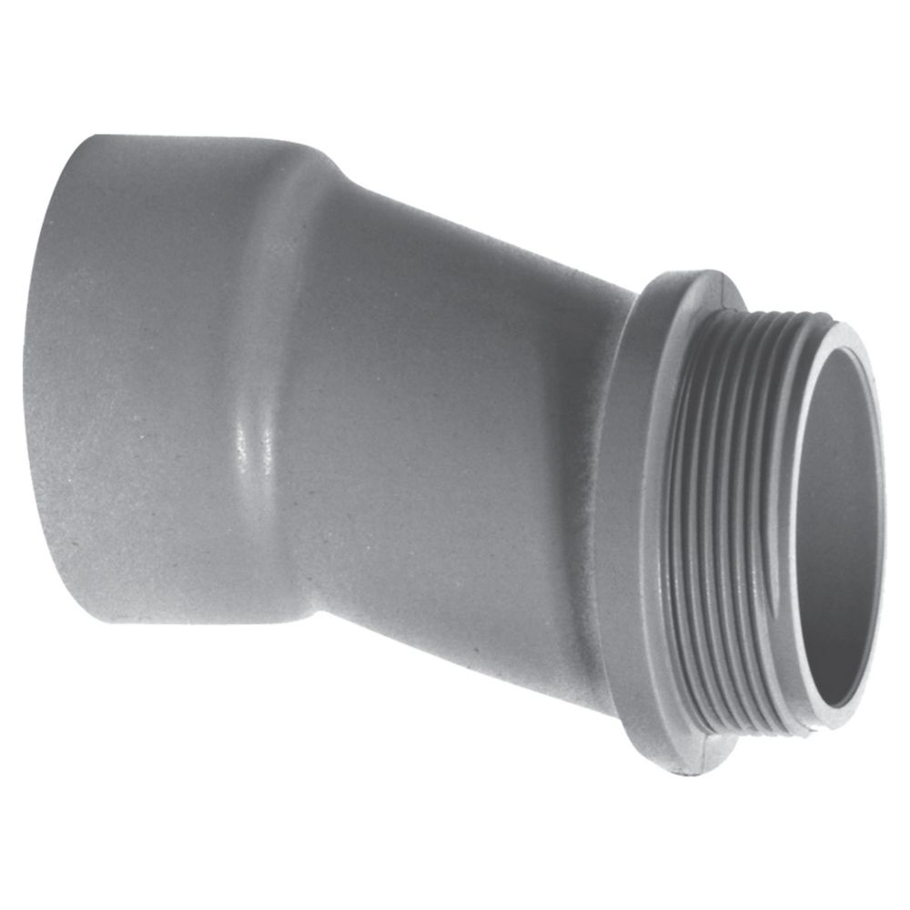 Carlon Schedule 40 PVC Offset Coupling  1-1/4 Inches