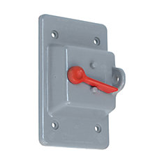 electrical box covers the home depot canadaweatherproof single gang pvc toggle switch pvc cover grey