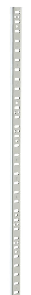 48 Inch White E5 Steel Upright