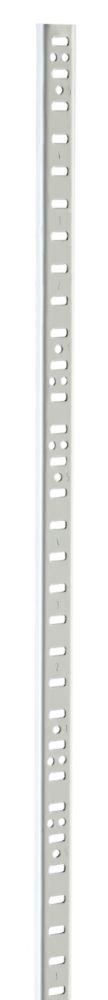 48 Inch White E5 Steel Upright