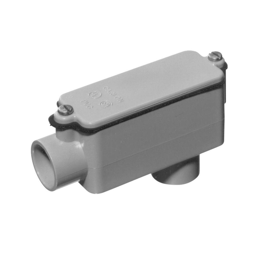 Raccord De Dérivation En PVC Schedule 40 De Type LB � 1 Pouce