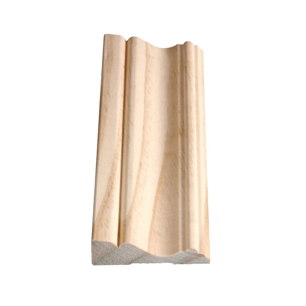 Solid Clear Pine Colonial Casing 5/8 In. x 2-1/2 In.