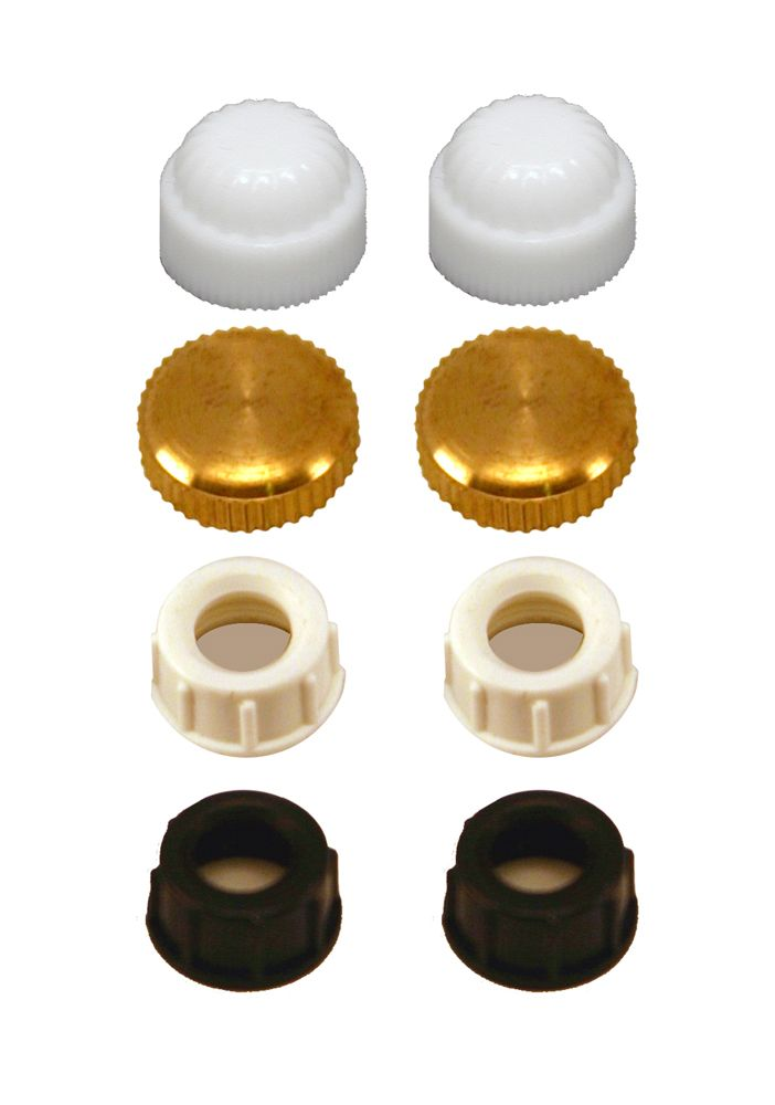 Assorted Finial Caps - 8 pcs / Pack