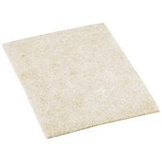 4-1/4-inch x 6-inch Heavy-Duty Self-Adhesive Felt Blankets (2 per Pack)