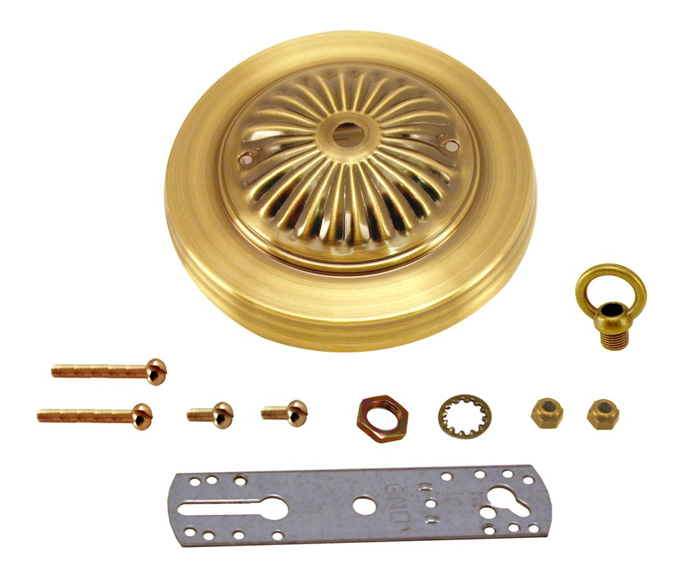 Bright Brass Deluxe Canopy Kit