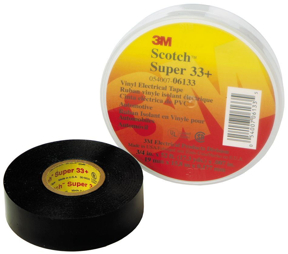 Ruban isolant en vinyle Super 33+ Scotch