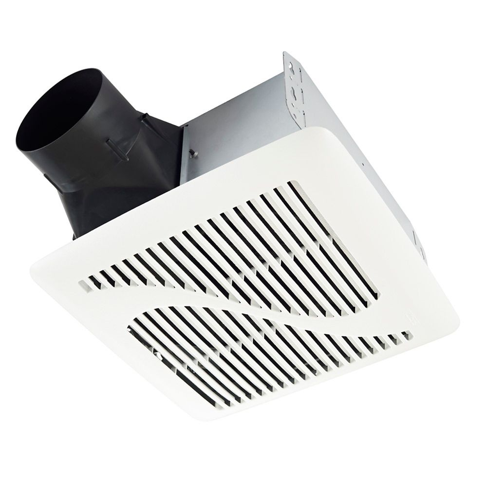 Bathroom wall ceiling fans the home depot canada invent single speed fan 110 cfm 10 sones aloadofball Choice Image
