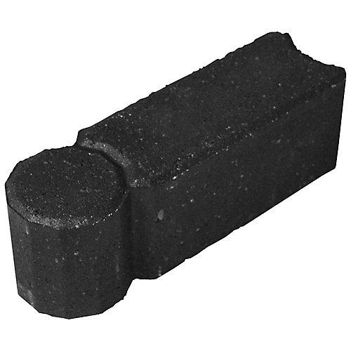 Bordure de jardin I-Con, 12 po, ton gris charbon