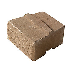 Desert Buff, Standard Stackstone - 8 Inch x 6 Inch x 4 Inch Thick