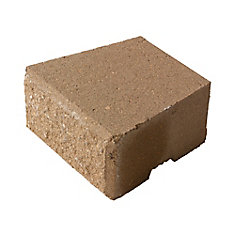Desert Buff, Coping Stackstone - 8 Inch x 6 Inch x 4 Inch Thick