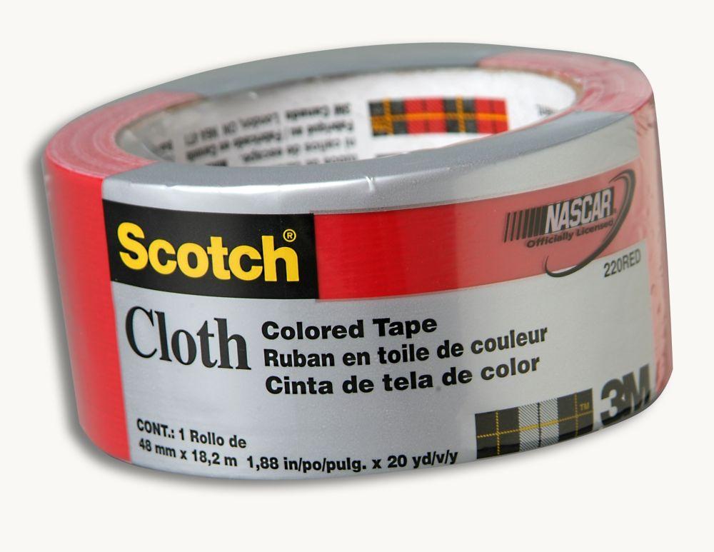 3M Scotch Cloth 220 Red Duct Tape
