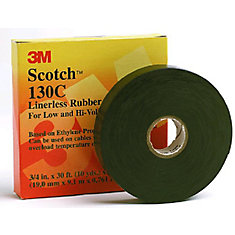 Scotch 130C Linerless Rubber Splicing Tape