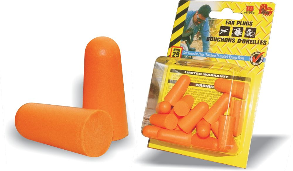 Disposable Ear Plugs 10 Pack
