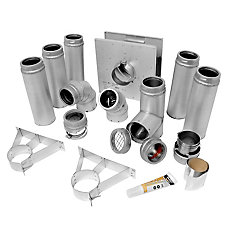 3 In. Pellet Pipe Kit