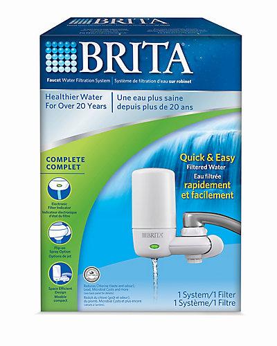 Brita Brita Faucet Mount Advanced System | The Home Depot Canada