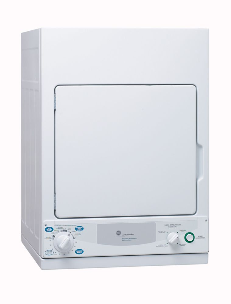 3.6 cu.ft. Electric Dryer in White