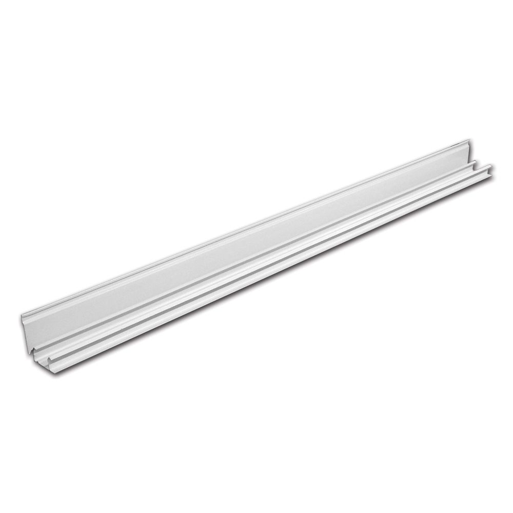 72-inch Sliding Closet Door Top Track in White