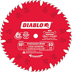 10 In. Combo Blade - 50 Teeth