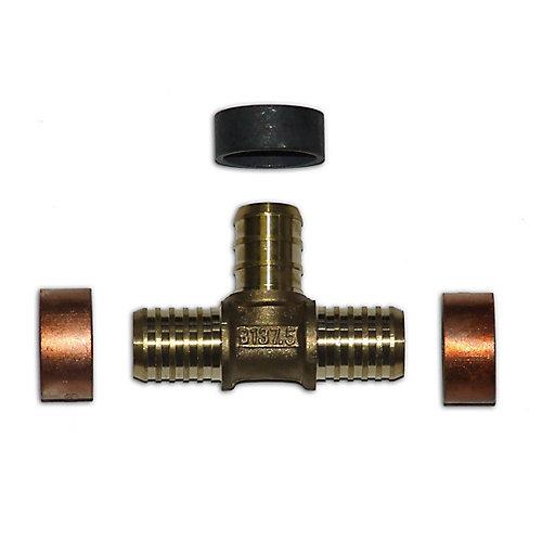 Pex Brass Fittings 1/2 Inch X 1/2 Inch Polybutylene X 1/2 Inch Pex ...