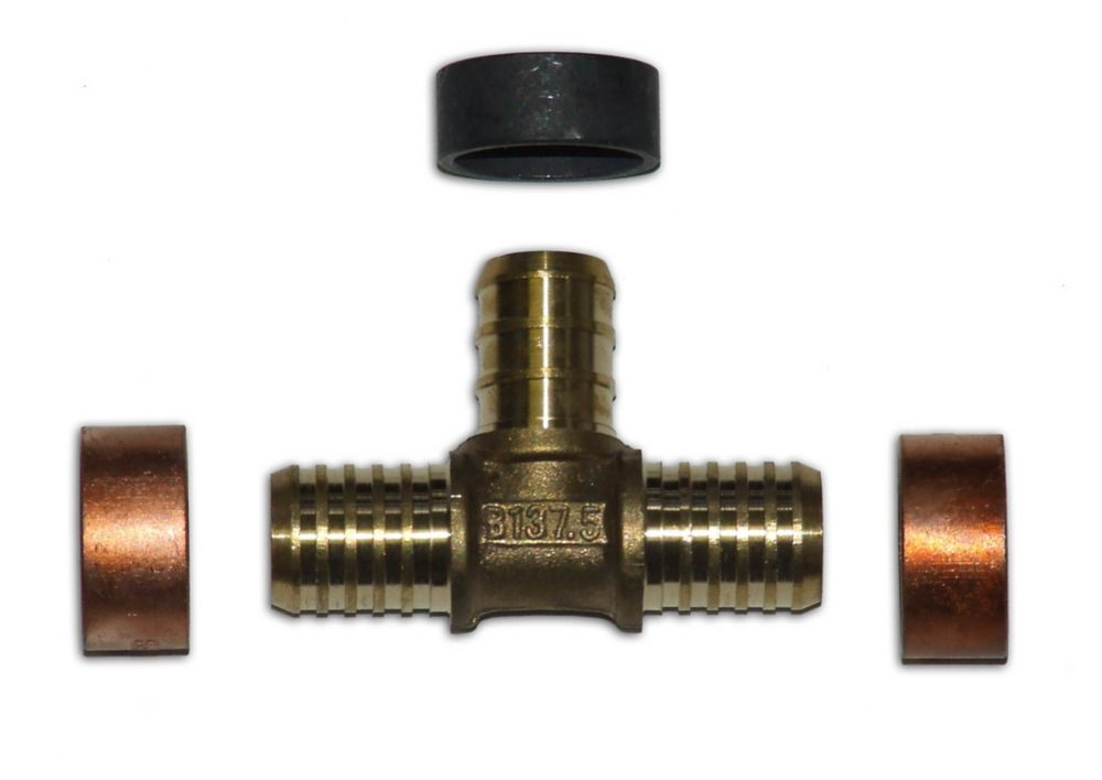 Pex pipes fittings the home depot canada