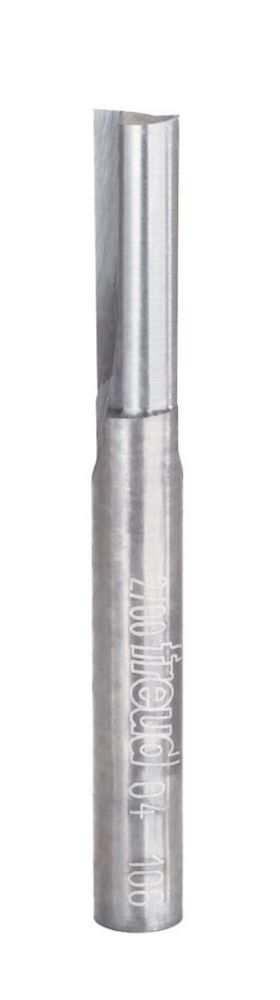 1/4-inch x 3/4-inch Double Flute Straight Bit