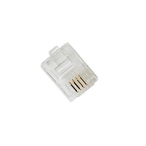 Modular Line Plugs Clear