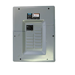 Siemens 12/24 Circuit 100A 120/240V Panel Pack With Main Breaker