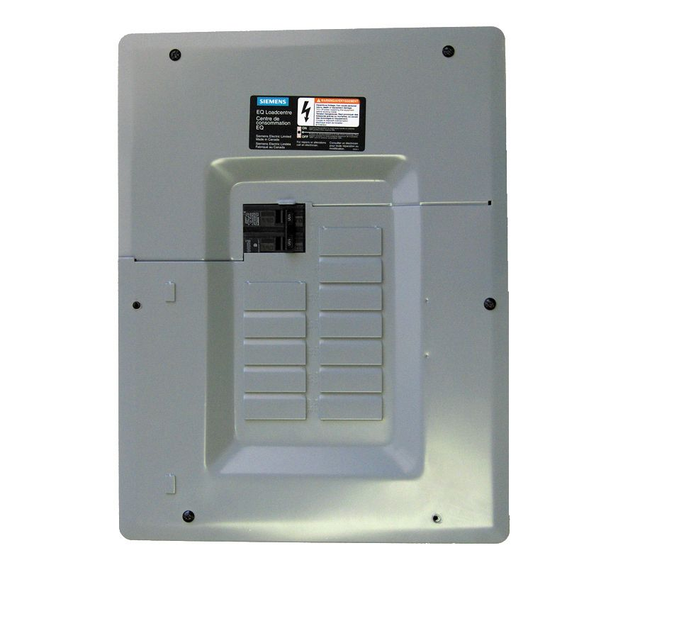 Siemens 6 12 Circuit 30a 120 240v Generator Panel The Home Depot 1 Phase Wiring Diagram Canada