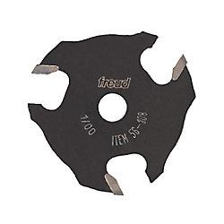 Freud 1/8-inch x 2-inch Three-Wing Slotting Cutter