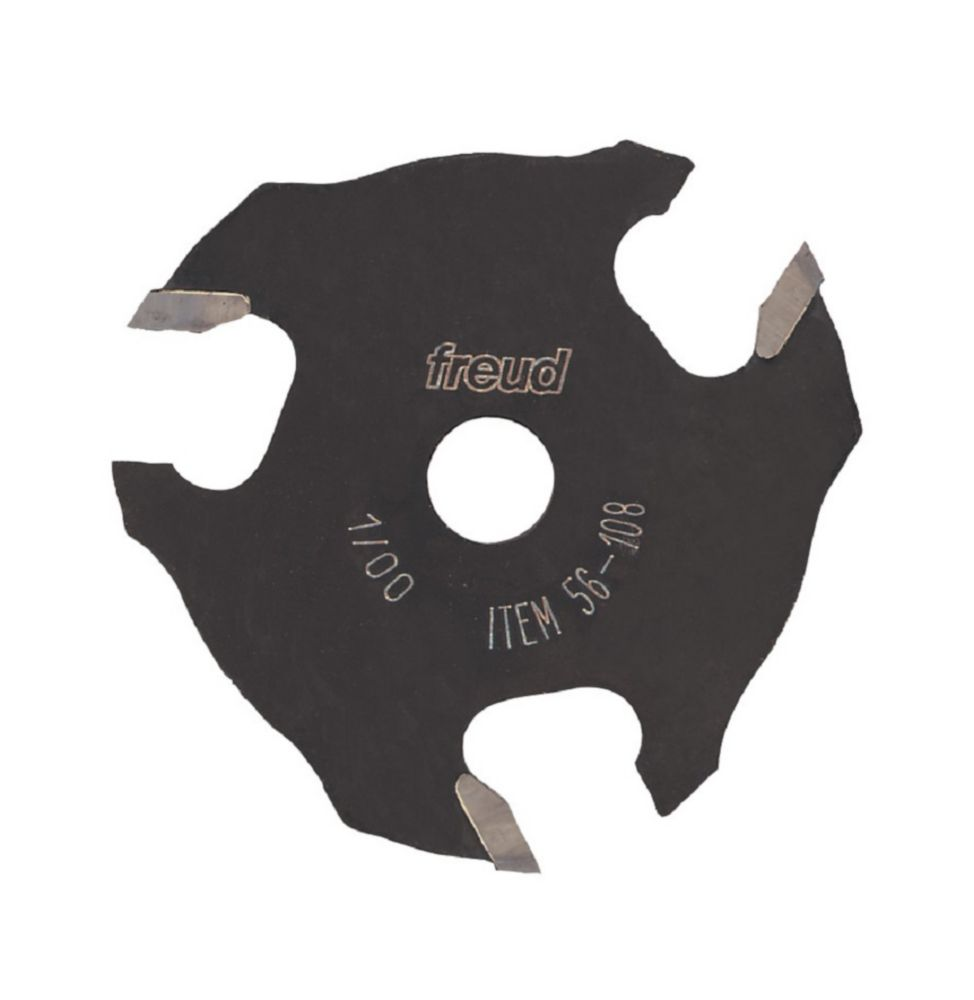 1/8-inch x 2-inch Three-Wing Slotting Cutter