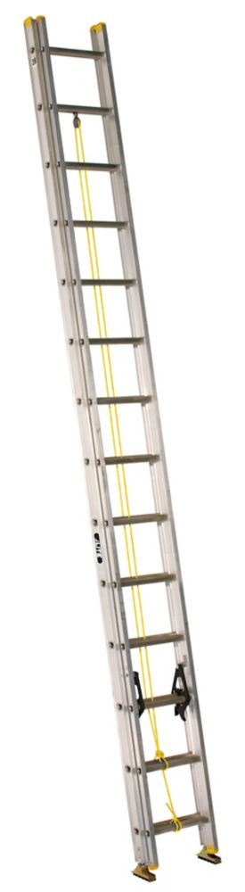 Featherlite aluminum extension ladder 28 Feet  grade I