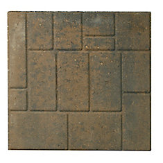 Slab- 18 inch X18 inch  Cobbleface- Tan/Charcoal