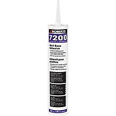 Roberts 7200, 887mL Wall Base Adhesive, Superior Grade, in Caulking Tube