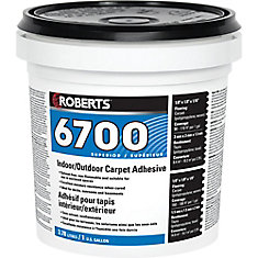 Roberts 6700, 3.78L Indoor/Outdoor Carpet Adhesive and Glue