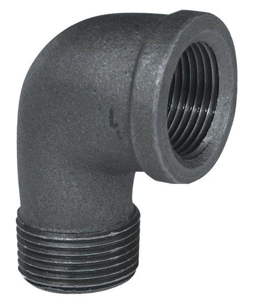 Fitting Black Iron 90 Degree Street Elbow 1/2 Inch