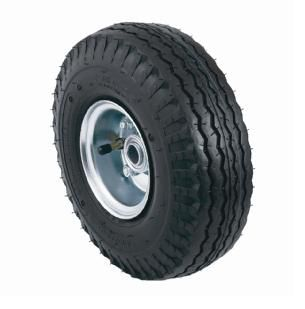 Robustes roues de rechange de 10 po à bandage pneumatique