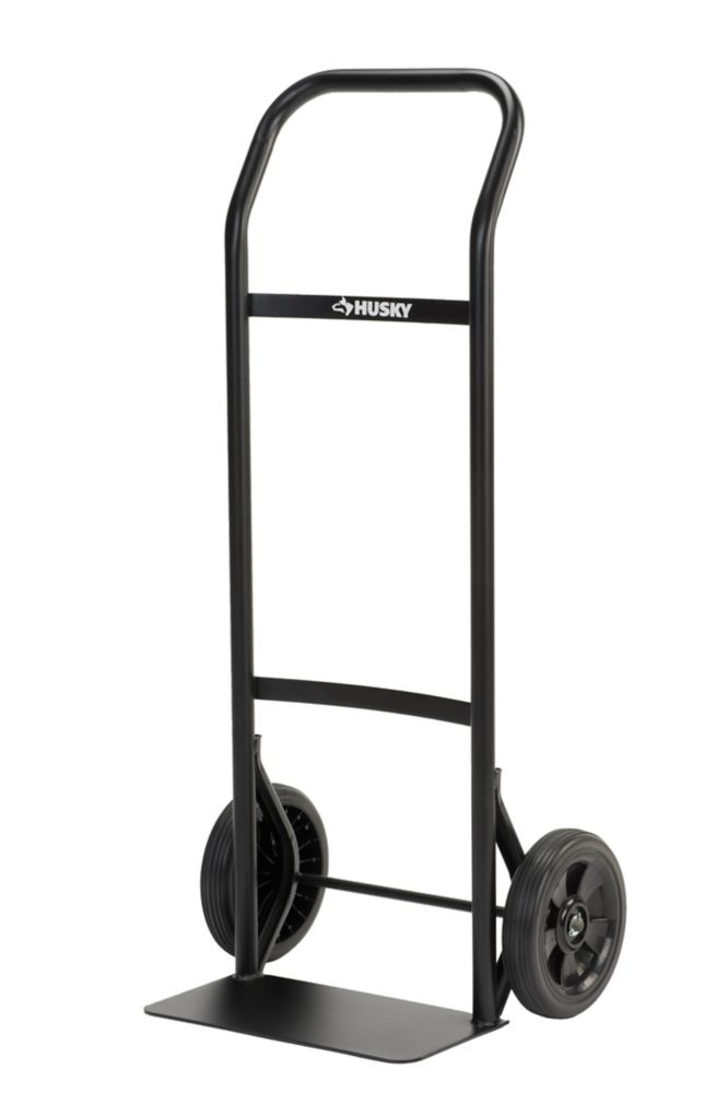 HUSKY Steel Hand Truck 300 Lb. Capacity Continuous Handle