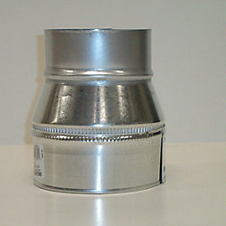 Don Park Plain Reducer 7 In. x 5 In. 26 Galvanized