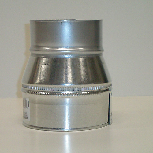 Plain Reducer 7 In. x 5 In. 26 Galvanized